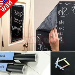 200 X 45cm Chalk Board Blackboard Removable Vinyl Wall Stick