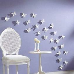 Amaonm 3D Butterfly Wall Stick Decals Super for Girls' Room