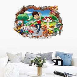 3D Kids Wall Sticker Decor Birthday Theme Party Supplies Wal