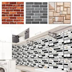 3D PVC DIY Self Adhesive Tile Art Wall Decal Wall Sticker Br