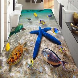 3D Starfish Floor Wall Sticker Removable Mural Decal PVC Art