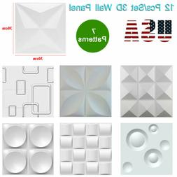 3D Wall Panel DIY Home Wall Sticker Ceiling Tiles Wallpaper