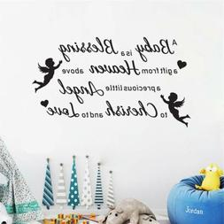 A Baby Is A Blessing A Gift Wall Decal Nursery Sticker Famil