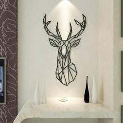 Acrylic Wall Stickers, 3D Crystal Wall Decals- The Art Deer