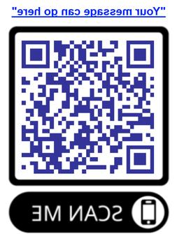 """Advertise Your Business or Website with a QR code on 2""""x2"""" S"""