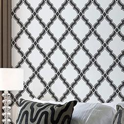 Agora Wall Stencil Pattern - Large - Beautiful stencils for