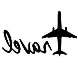 Travel Airplane Quote Decal Wall Vinyl Art Sticker