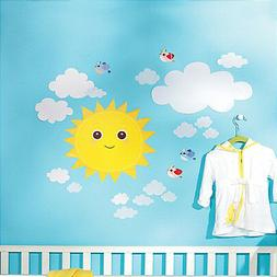 WALLIES BABY SUNSHINE wall stickers 21 decals nursery decor
