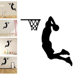 Basketball Dunk Sport Removable Wall Sticker Decal Vinyl Art