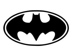~*~ BATMAN Logo Vinyl Decal for Wall Sticker * CUSTOM Decals