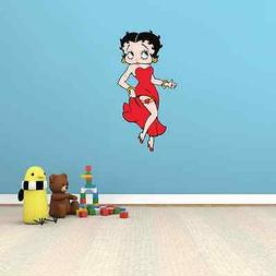Betty Boop Girl Kids Room Wall Garage Decor Sticker Decal 13