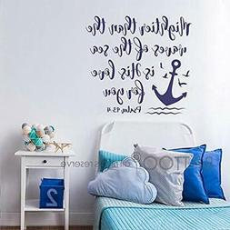 BATTOO Bible Stickers Verse Wall Decal Mightier Than The Wav