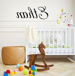 Boys Nursery Personalized Custom Name Vinyl Wall Art Decal S