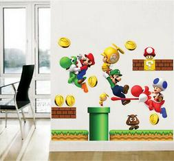 Cartoon Characters Home Room Decor Removable Wall Stickers D