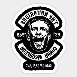 Conor Mcgregor UFC MMA Fighter Vinyl Decal Wall Decal Room P