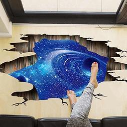 Amaonm Creative 3D Blue Vastness Universe Sky Planet Space W