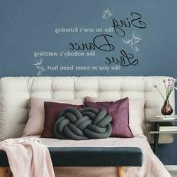 RoomMates Dance, Sing, Love Peel & Stick Wall Decals