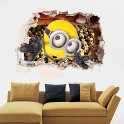 Despicable Me 2 Minions Removable Wall Sticker Art Decal Kid