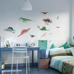 Dinosaur Wall Decals Dino Stickers for  Wall Art Mural for B