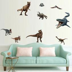 Dinosaur Wall Decals Jurassic World Animal Sticker Removal K