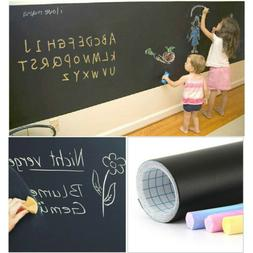 Chalkboard Wall Sticker Removable Blackboard Home Office Wal