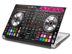 DJ Turn Tables Music Personalized LAPTOP Skin Decal Vinyl St