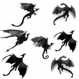 3D DRAGON Wall Decor : 7 PCS Set : Game of Thrones Mother Of