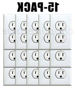 Electrical Outlet Stickers 15-Pack Prank Fake Joke Funny Cus