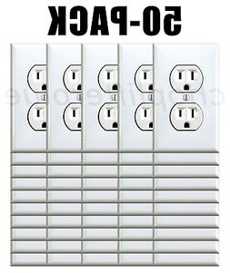 Electrical Outlet Stickers 50-Pack Prank Fake Joke Funny Cus