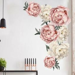 Flowers Pattern Wall Sticker Art Decal Background Sticker Li