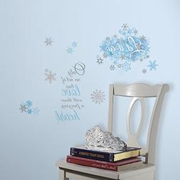 RoomMates Frozen Let it Go Peel and Stick Wall Decals, ,