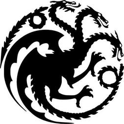 Game Of Thrones House Targaryen Vinyl Decal Wall Car Window