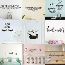 Handmade DIY Wall Room Stickers Decoration Painting Removabl