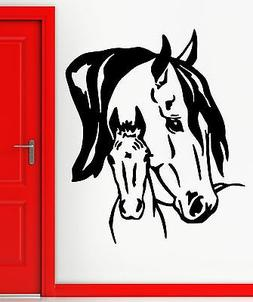 Horse Wall Stickers Animal Excellent Decor for Living Room V
