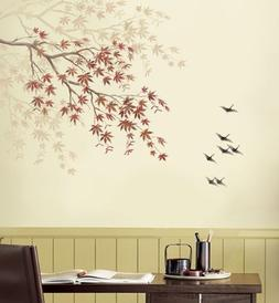 Stencil Japanese Maple Branch - Reusable Stencils for Easy H