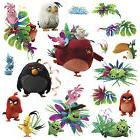 17 ANGRY BIRDS MOVIE WALL DECALS Kids Bedroom Stickers Decor