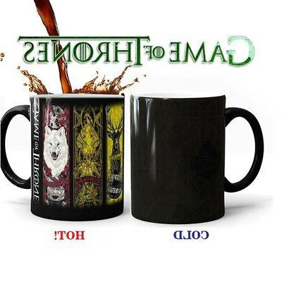 350ML Game of Thrones Color Changing Coffee Mug Heat Sensiti