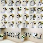3D Acrylic Mirror Wall Sticker 26 Alphabet Letters Mural Hom