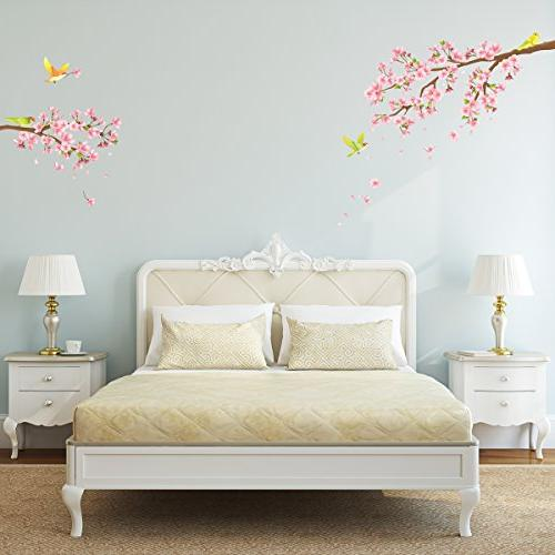 Decowall and Birds Kids Decals and Stickers Bedroom Living