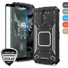 For LG Stylo 4 Metal Plate Magnetic Support Hard Phone Case+
