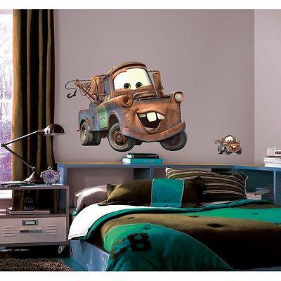 RoomMates Mater Peel and Stick Giant Decal