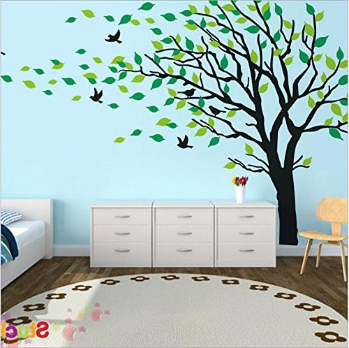 Large Tree in The Decals Wall Vinyl Art Rooms Teen Girls Sticker Stickers Decor
