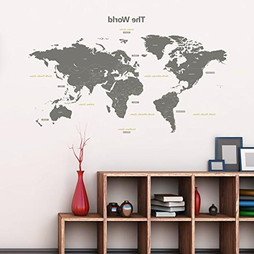 Decowall DL-1509G Decals and Stickers Kids Nursery Bedroom