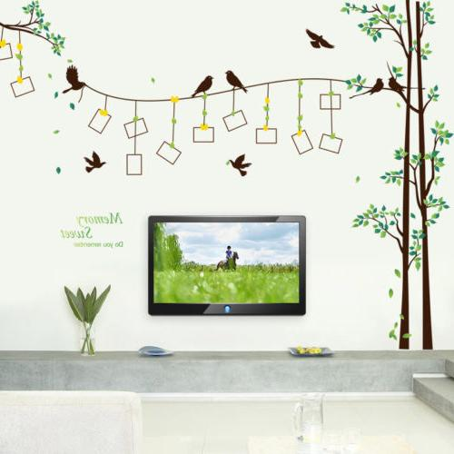 Family Wall Mural Sticker DIY Removable Vinyl Stickers
