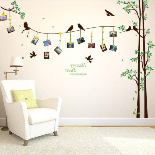 Family Tree Wall Mural DIY Removable Stickers