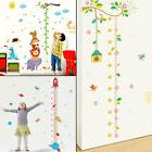 Kids Growth Chart Height Measure Wall Stickers Children Nurs