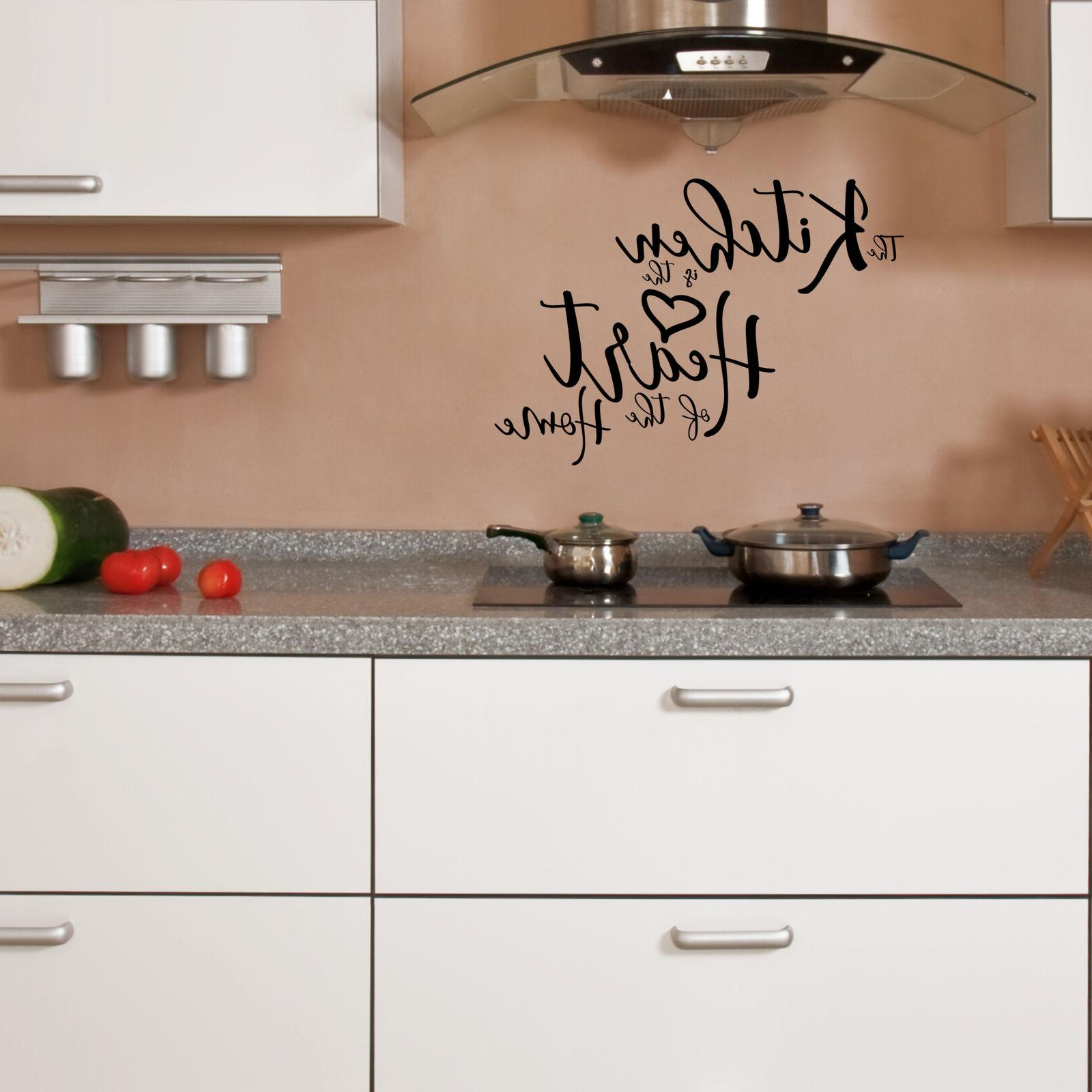 Kitchen Wall Vinyl Art Home Personalised Decor Mural