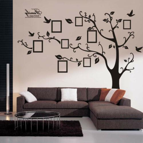 Leaves DIY Removable Bedroom Backdrop Decal