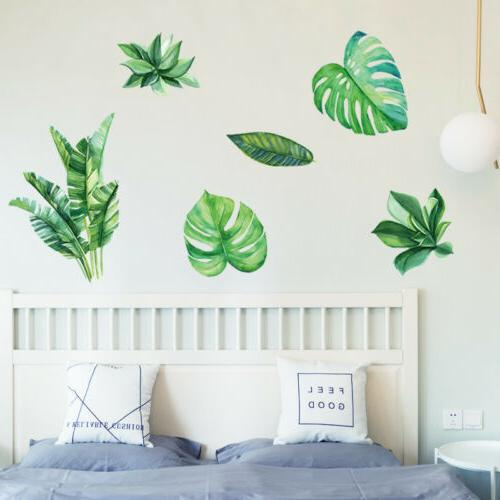 Leaves DIY Removable Bedroom