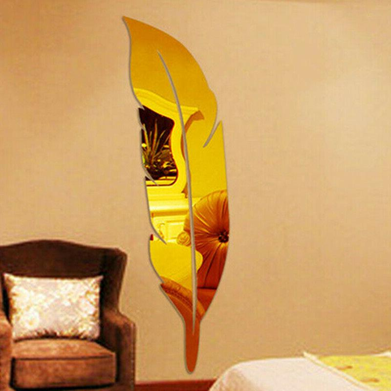 3D DIY Mirror Room Home Decor OC Stickers Art